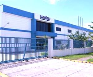 株式会社三立海外生産拠点 ラグナ工場 外観